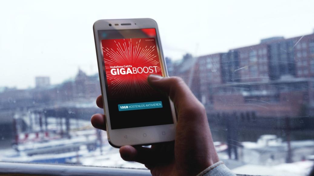 Vodafone CallYa GigaBoost