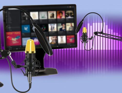 AUKEY Studio Mikrofon GD-G1