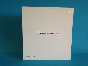 Huawei MediaPad M3 Packung von vorn