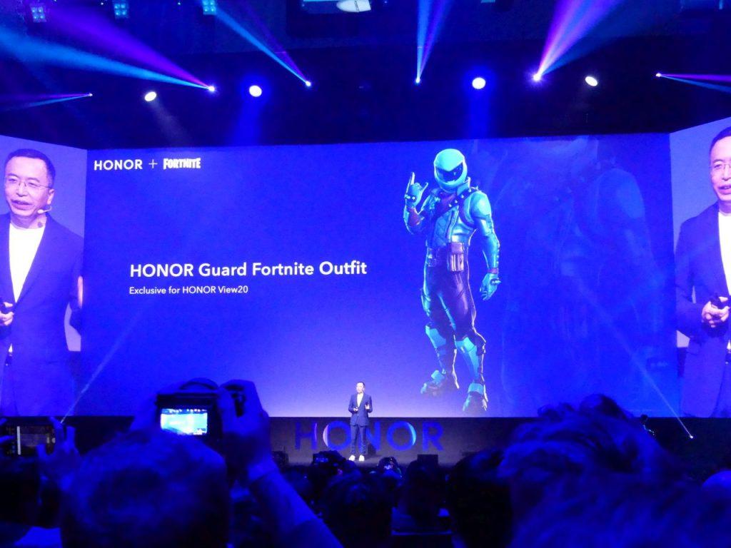 HONOR Guard Fortnite Skin