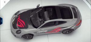 ASUS ROG Phone 2 Asphalt 9 Porsche Skin