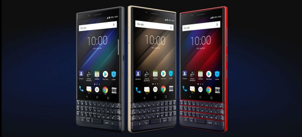 BlackBerry KEY2 LE Farben