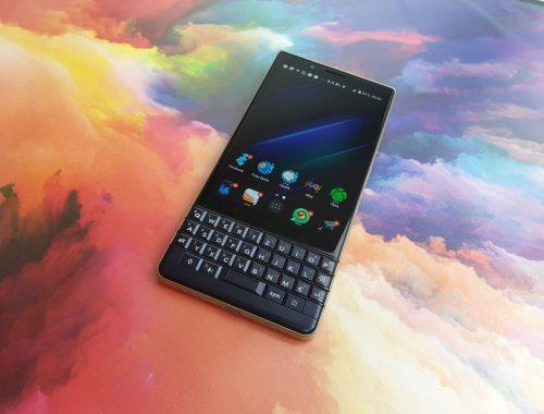 BlackBerry KEY2 LE front