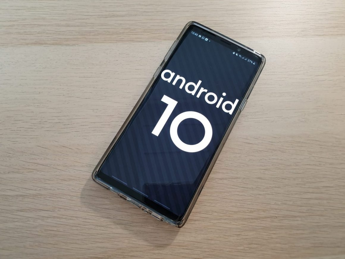 SAMSUNG GALAXY NOTE 9 UPDATE AUF ANDROID 10